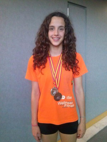 Natación con aletas, Campeonato de España infantil-cadete
