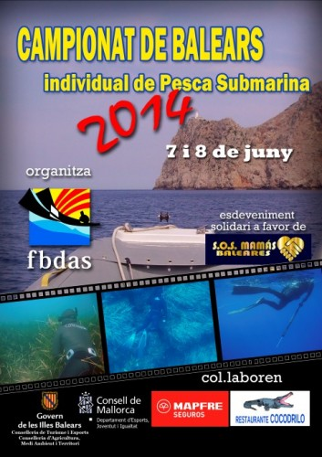 Campeonato Baleares 2014 de pesca submarina