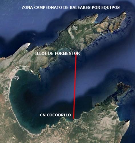 Pesca submarina: Campeonato de Baleares por equipos 2015
