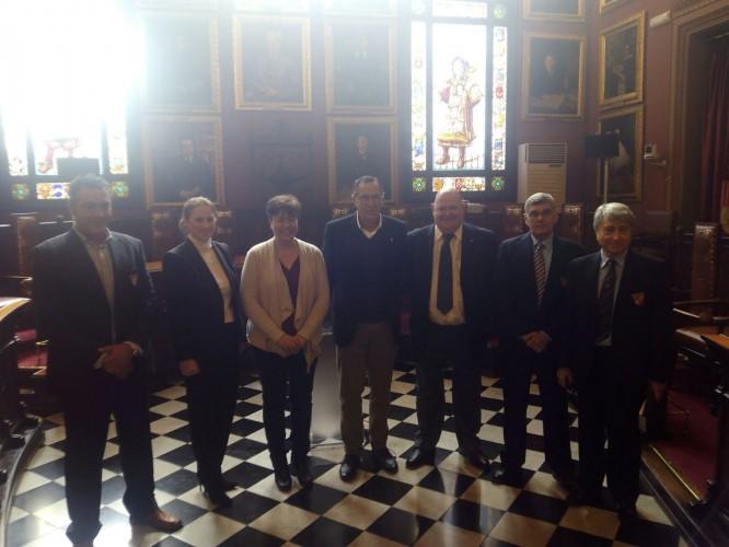 Presentación de la Semana Master y reconocimiento a Bartolomé Salas