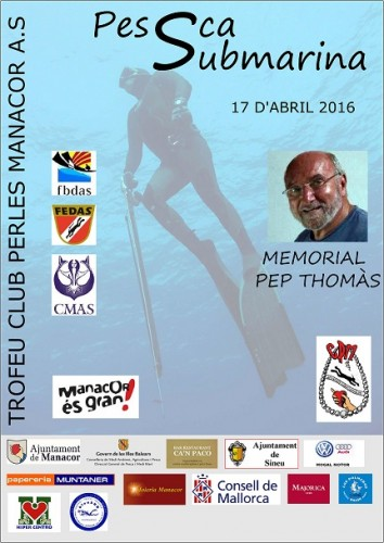 Pescasub, Trofeu Primavera 2016 17 Abril