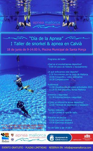 """Día de la Apnea"" 1er Taller de snorkel & apnea en Calvià"