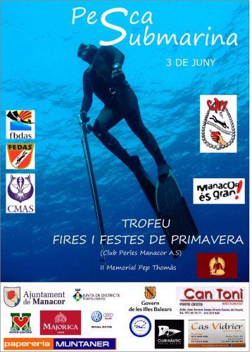 Pescasub- Trofeu fires i festes de primavera