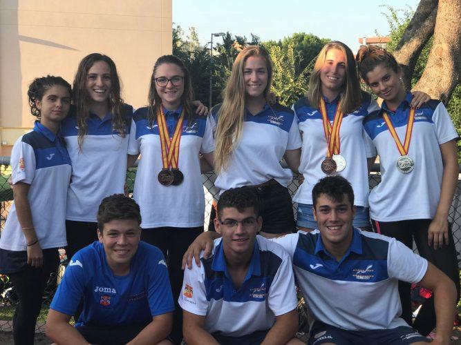 Campeonato Junior- Senior de Natación con aletas