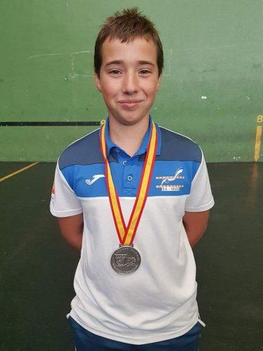 David Ruiz Romera consigue el 2º puesto en la prueba de 400mts Superficie infantil