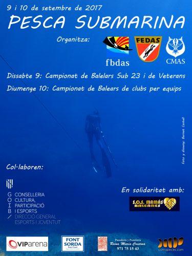 Pescasub, Campeonato Baleares sub 23 y veteranos