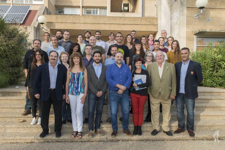 Inauguración curso buceo científico UIB