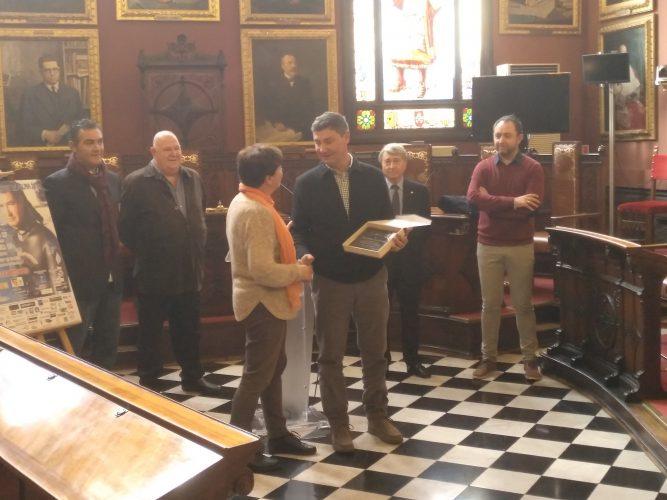 Homenaje a Alberto March en el Ayuntamiento de Palma, empieza la Semana Master de Pesca submarina 2018