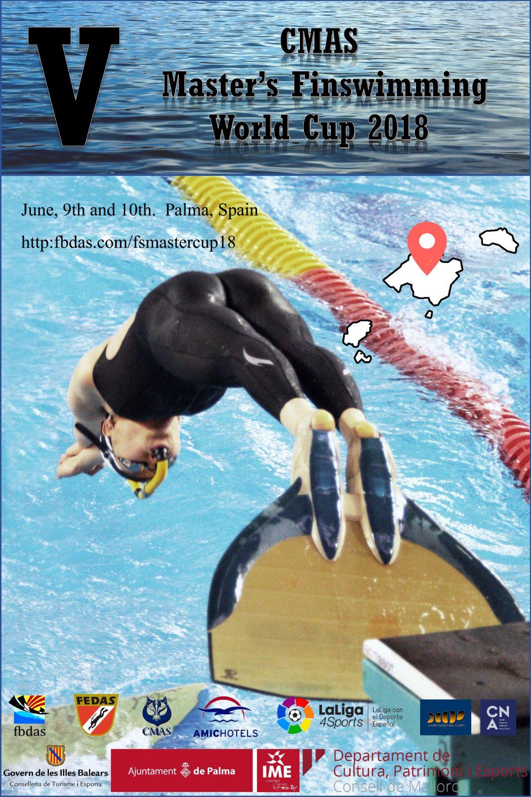 Resultados copa mundo cmas master de nataci n con aletas for Aletas natacion piscina