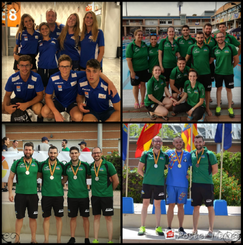 NATACION CON ALETAS: XLVIII Campeonato de España Junior- Senior