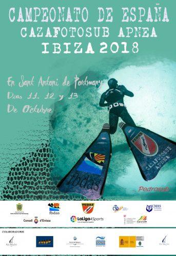 CAMPEONATO DE ESPAÑA CAZAFOTOSUB APNEA IBIZA 2018
