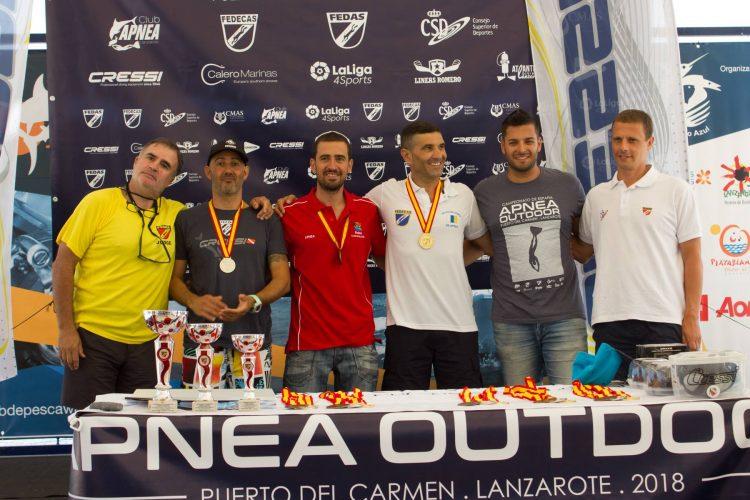Campeonato de España de apnea outdoor en Lanzarote