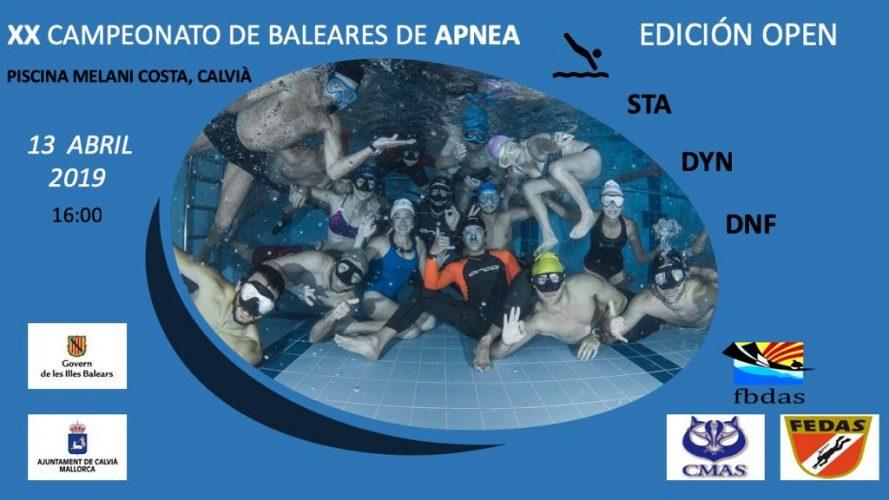 XX CAMPEONATO DE BALEARES DE APNEA