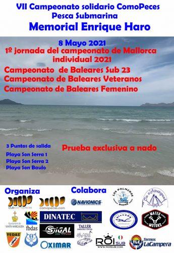 8 mayo, VII Campeonato solidario ComoPeces