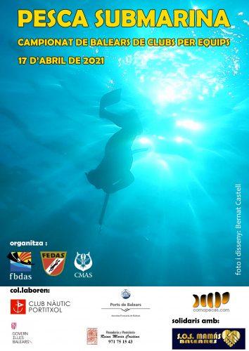 Pesca submarina, campeonato de Clubes por equipos