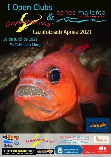 1º Open Clubs, Cazafotosub Apnea 2021