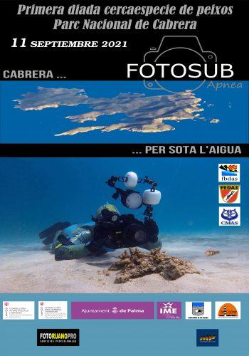 Primera diada Cercaespecie de peixos Parc Nacional de Cabrera